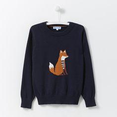 Pullover mit Fuchs