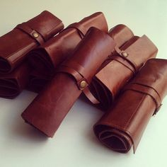 Loutil sac/sac en cuir crayon cas/voyage de lartiste fait à