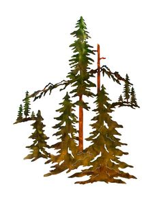 Excited to share this item from my #etsy shop: Pine Trees, Forest and Mountain Scene Metal Wall Art Home Decor Metal Worx, Pine Trees Forest, Tree Artwork, Metal Tree Wall Art, Tree Wall Decor, Tree Sculpture, Art Themes, Hanging Art, Metal Walls