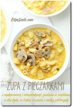 Zupa z pieczarkami