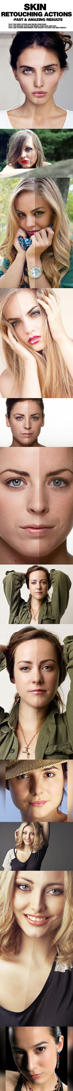 PRO Skin Retouching Actions  Photoshop • Download ➝ https://graphicriver.net/item/pro-skin-retouching-actions/12613318?ref=pxcr