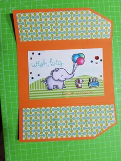 Happy Birthday 2 🎉🎈🎁🎂 #lawnfawn #chameleonpens #cardmaking #papercrafts #ElphieSelfie #happybirthday #faidate #homemade #nobigshot #handmadecards