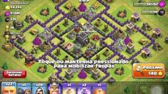 a estreia mais tosca no clash of clans - YouTube