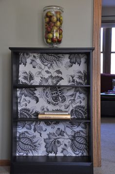 I've got a book shelf that could really use a face lift to replace the cheap look to it....this would  be great!