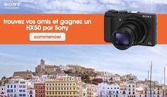 Jouez au jeu facebook Sony France et tentez de gagner un appareil photo Cyber-shot DSC-HX50 d'une valeur de 418 € ! http://apps.facebook.com/face-in-the-crowd/