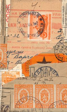 Collage for ICAD (Index-Card-A-Day) challenge: Orange prompt | Flickr - Photo Sharing! B-Kay