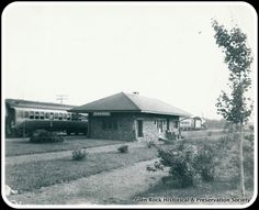 Main Line Train Station, probably around the time it was built in 1905.
