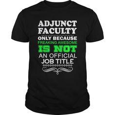 ADJUNCT  ⃝ FACULTY - FREAKINADJUNCT FACULTY - FREAKINADJUNCT FACULTY - FREAKIN
