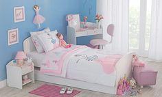 Tok&Stok Quarto infantil Crie um quarto completo para qualquer menina dormir, estudar... e brincar!