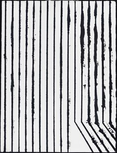 """nicecollection: """"Richard Aldrich - untitled, oil & wax on panel, 2004 """" 3d Foto, Illustration Art, Illustrations, Black And White Abstract, Minimalist Art, Geometric Art, Contemporary Paintings, Textures Patterns, Surface Design"""