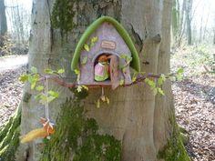 Materiaalpakket eekhoornhuisje   Viltpatronen en pakketjes   Atelier Grethilde