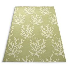 """Coral Reef Area Rug $699.00 Durable and versatile, reversible flatweave Coral Reef Rug offers year-round comfort in most any room. Reversible flatweave area rug with a borderless coral design Hand woven construction 100% wool Low 1/4"""" profile"""