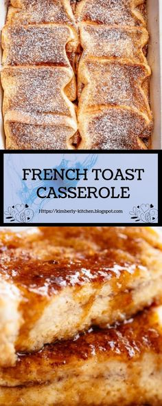 FRENCH TOAST CASSEROLE A tasteful whirl on a creation breakfast direction that can treat a foregather with tokenish play and endeavour. Filled with indulgent flavours, read our Gallic Heat Casserole overnight OR bake it ethical absent! What's For Breakfast, Breakfast Dishes, Breakfast Recipes, French Toast Casserole, Breakfast Casserole, Brunch Recipes, Dessert Recipes, Desserts, Good Food