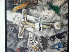 White Crucifixion by Chagall