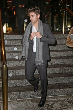 Zac Efron looking stylish as ever