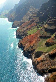 Napali Coast Of Kauai, Hawaii