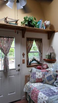 Woman Converts Barn Shed into 192 Sq. Ft. Tiny Home One of my favorite little houses!