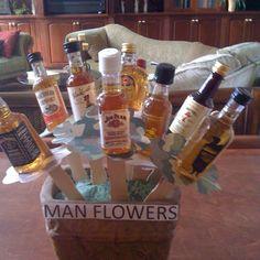 Man flowers.