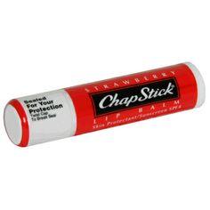 chap stick   chapstick nothing keeps my lips hydrated and chap free like chapstick ...