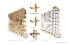 Galería de La construcción del edificio de madera más alto del mundo se está llevando a cabo en Vancouver - 17