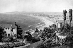 Looking at the old South Bay from Palos Verdes California.