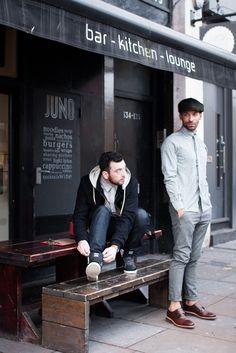 Menswear street style, Shoreditch East London. AIDA Shoreditch AW13.