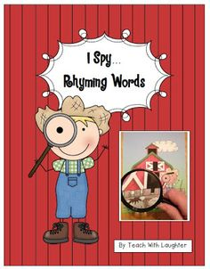 Teach With Laughter: I Spy Rhyming Words