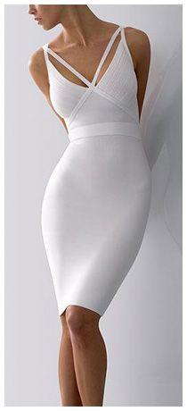 Bandage Dress ~ Herve Leger