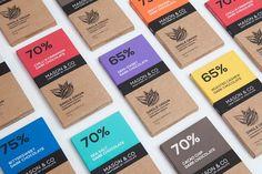 Mason & Co (tablettes de chocolat noir bio) | Design : Impprintz, Pondicherry, Inde (décembre 2014)