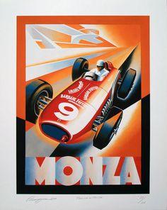 Alain Levesque Farina a Monza Ferrari