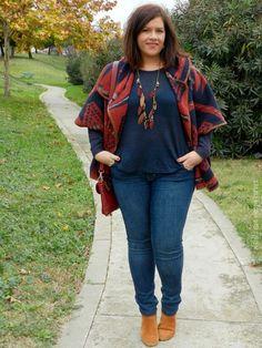 Plus Size Fashion - VSTETE QUE VIENEN CURVAS: MISS CAPA  OUTFIT                                                                                                                                                                                 Más
