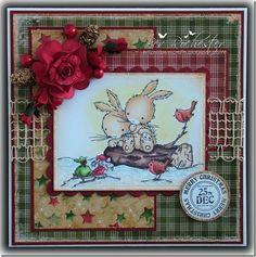 LOTV - Winter Bunnies - http://www.liliofthevalley.co.uk/acatalog/Stamp_-_Winter_Bunnies.html