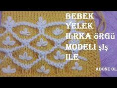 PETEKLİ ÇİÇEKLER ÖRGÜ MODELİ TÜRKÇE VİDEOLU YAPILIŞI | Nazarca.com Knitting Videos, Knitting Stitches, Baby Knitting, Knitting Patterns, Crochet For Kids, Crochet Baby, Knit Crochet, Working With Children, Stitch Patterns