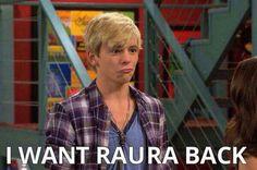 I get you.I want Raura back too :(