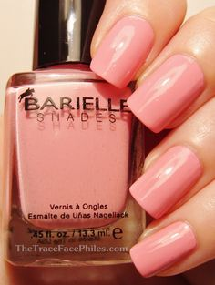 The TraceFace Philes: Barielle Brilliant Colors Collection! Smarty Pants Pink