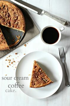 Pecan Sour Cream Coffee Cake | Recipe | Sour Cream Coffee Cake, Coffee ...