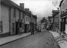 Photo of Bovey Tracey, Fore Street Devon, Old Photos, House Ideas, England, Street, Antique Photos, Vintage Photos, Roads, English