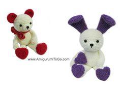 Bunny Ears For Valentine Bear