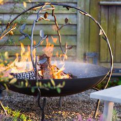 Woodland Arbor Fire Pit in Outdoor Living Autumn Essentials at Terrain