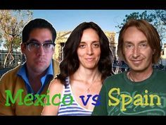 A great video on words that are different in Mexico vs. Spain.