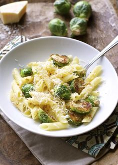 Buttered Brussels Sprouts Penne #Health&Fitness#Trusper#Tip