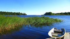 Mouth of Dalälven river to Baltic sea, Skutskär, Sweden