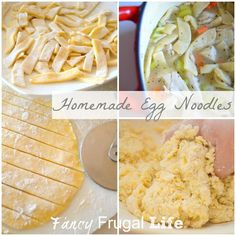 Homemade Noodles Tutorial & Turkey/Chicken Noodle Soup Reciope by Fancy Frugal Life