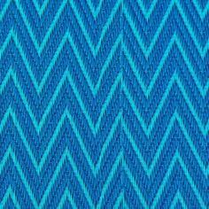 cabane indigo | Natte africaine plastique zigzag bleu - Cabane Indigo