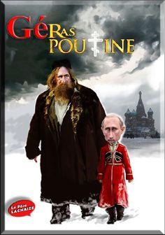 Caricatures de Gérard Depardieu et Vladimir Poutine,, Géra-sPoutine!