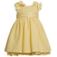 Sears Baby Clothes Bonnie Jean Infant Easter Dress  Pastel Color Tiered Dress With