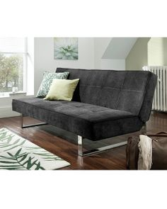 Sofa Bed T Click Clack Sofabed In Chocolate Suede Effect