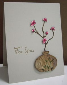 Stamping with Loll: Cherry Blossoms for You (Saturday, April 07, 2012)