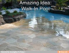 AMAZINGIDEAS BY FACT DAILY Walk-in  pool