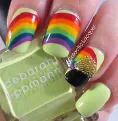 Pot o gold & rainbow